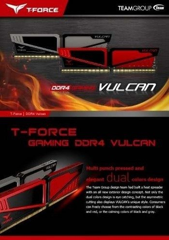 Memoria Team Group Ddr4 4gb 2400mhz 14 Vulcan Red Pc - tienda online