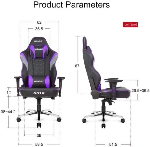 Sillon Silla Gamer Ps4 Butaca Ergonómica Akracing Max 2019 en internet