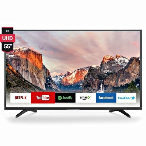 Smart Tv 55 Pulgadas New Led 4k Ultra Hd Android Netflix Uhd