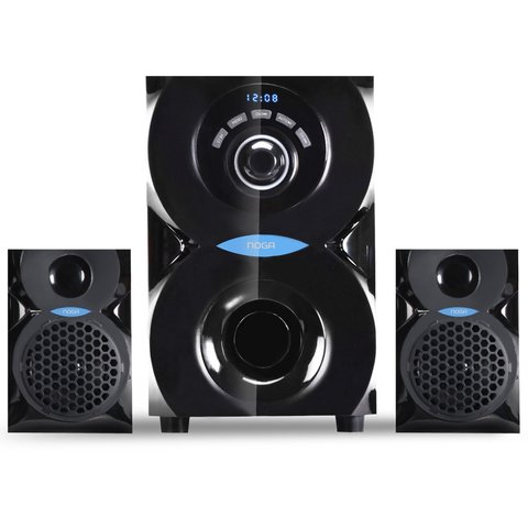 Parlantes Pc 2.1 Bluetooth Usb Sd Control Noga Net Spark