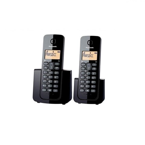 Telefono Inalambrico Panasonic Duo KX-TGB112 Base Doble