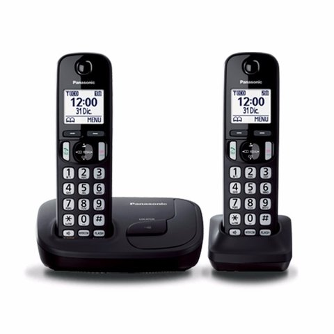 Telefono Inalambrico Panasonic Duo Dect Intercom Kx Tgd212 en internet