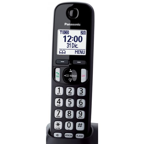 Telefono Inalambrico Panasonic Duo Dect Intercom Kx Tgd212