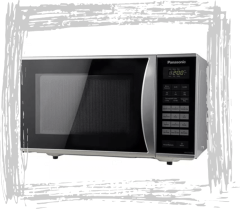 Microondas Panasonic Con Grill Gt353 23lts Digital Outlet