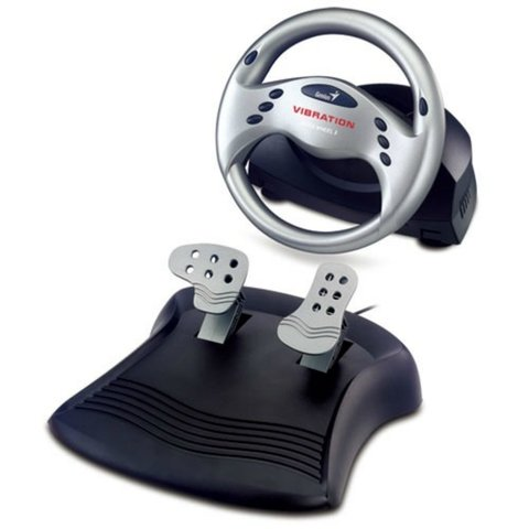 VOLANTE GENIUS SPEED WHEEL 3 VIBRATION USB