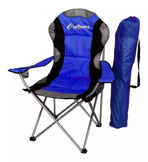 Silla Sillon Plegable Camping Acolchada Reposera Outdoors