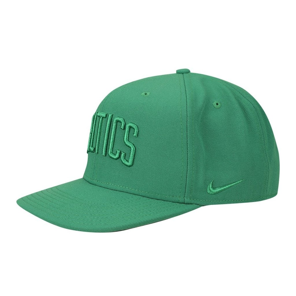 fb6a48508a2e0 Gorra Plana Original Nike Boston Celtics Nba Basquet Verde