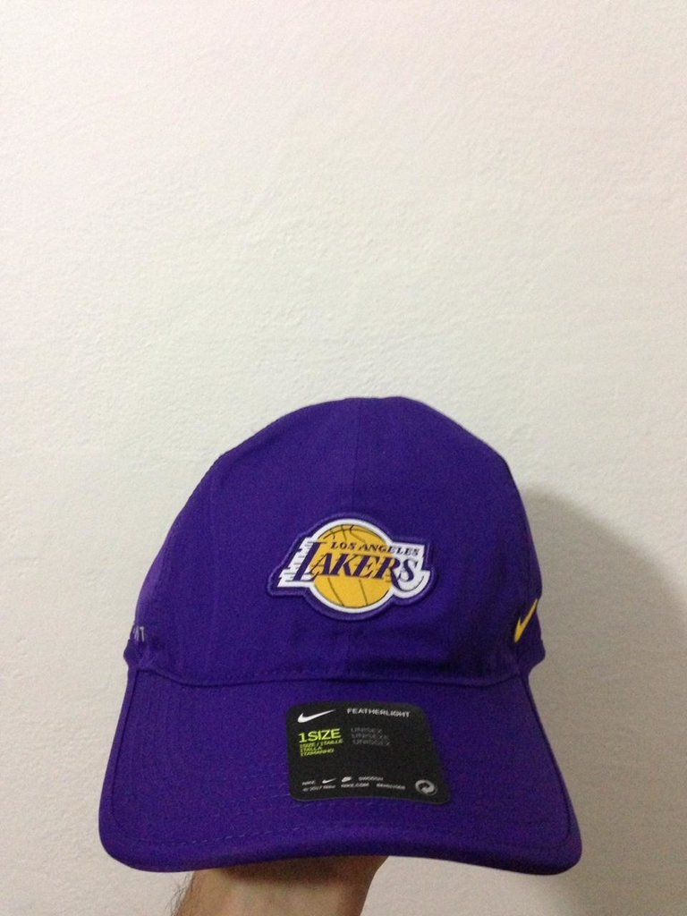70009fd3d5893 Gorra Original Los Angeles Lakers Nike Aerobill Nba Basquet