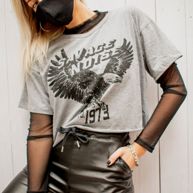 Remera Savage Noise - Foxie
