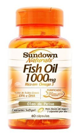 Fish Oil - 1000mg 60 cápsulas Sundown Naturals