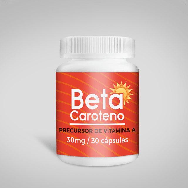 Beta Caroteno - 30mg 30 cápsulas