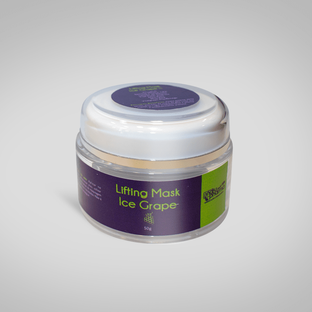 Lifting Mask Ice Grape - Efeito tensor.
