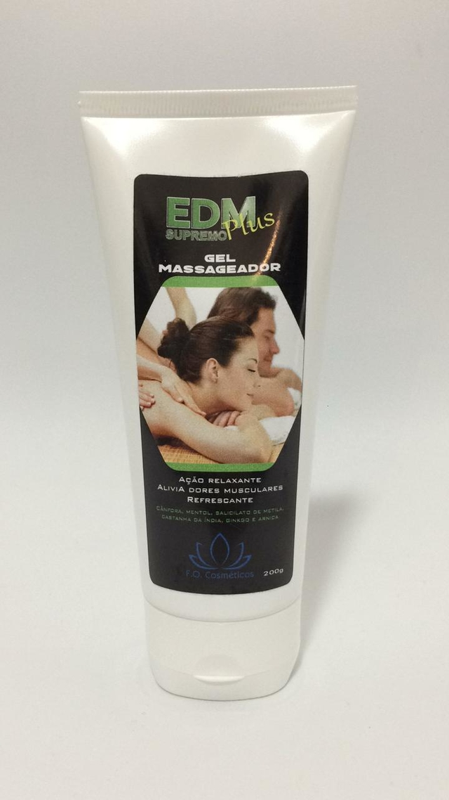 EDM Supremo Plus - Gel de massagem