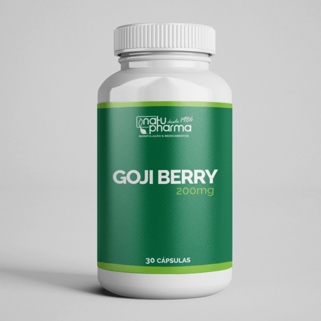 Goji Berry - 200mg 30 cápsulas