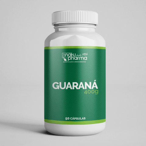 Guaraná - 400mg 50 cápsulas