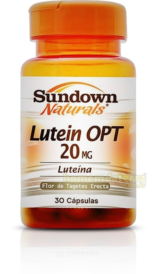 Lutein OPT - 20mg 30 cápsulas Sundown Naturals - comprar online