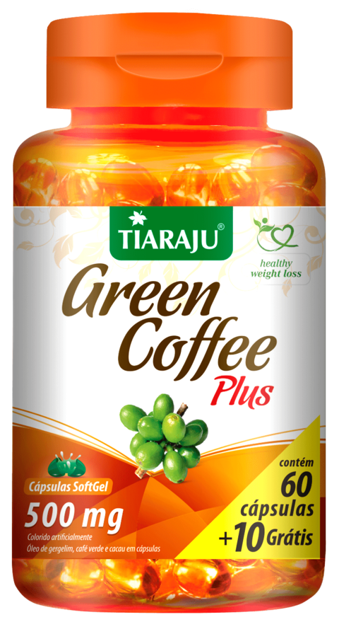 Gren Coffe Plus  - 500mg 70 cápsulas Tiaraju