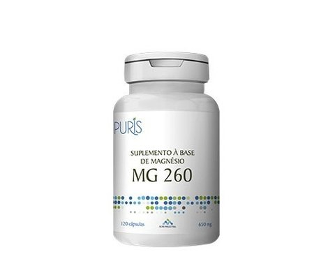 MG 260 - 650mg 120 cápsulas Puris