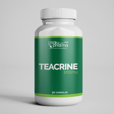 Teacrine - 100mg 30 cápsulas