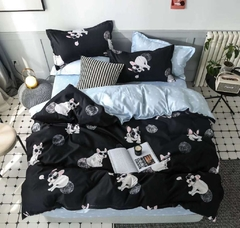 Tendido cover Duvet Black Dog