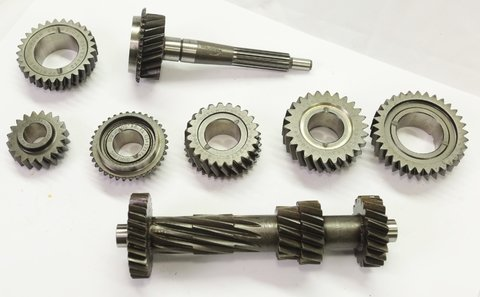 Gear Set Omega 1ª a 5ª (2,85 x 1,76 x 1,28 x 1,00 x 0,84) Quick coupling