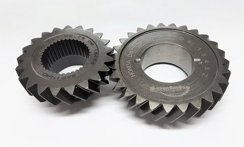 Honda Si - 6th gear ratio 0.78