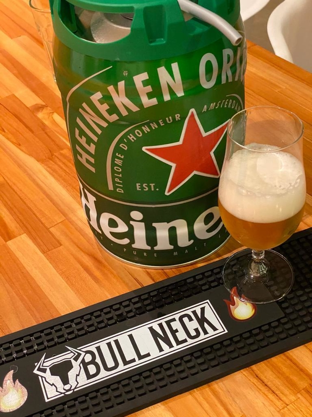 Tapete para copos Bull Neck - Beer Mat na internet