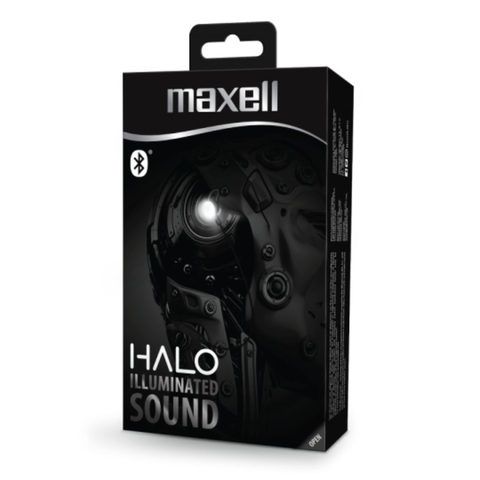 AURICULAR BLUETOOTH MAXELL HALO ARO LED en internet
