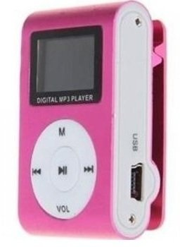 Reproductor Mp3 Clip C/visor Memoria 8gb +Auric+USB