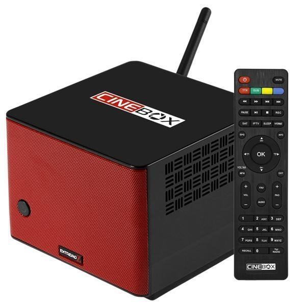CineBox Extremo Z - Receptor e Speaker integrado - Lançamento 2019