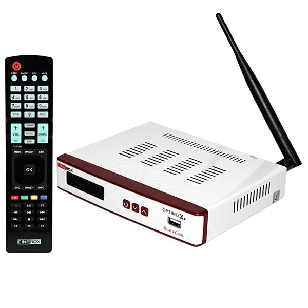Cinebox Optimo X2 ACM WiFi - loja online