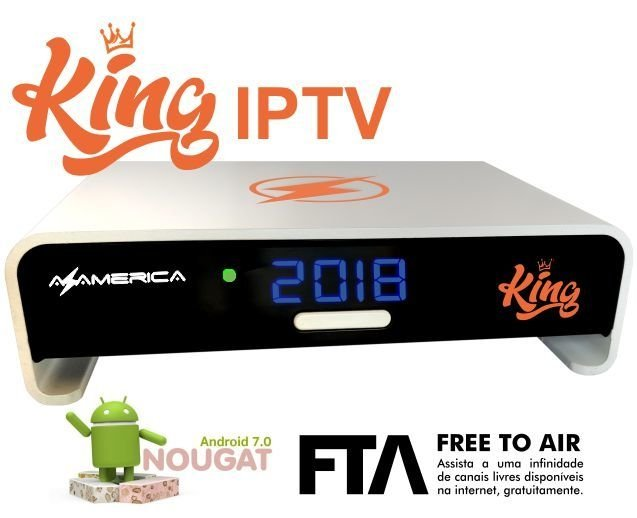 Imagem do Azamerica King Iptv 4k - Wi-fi / Android 7.1