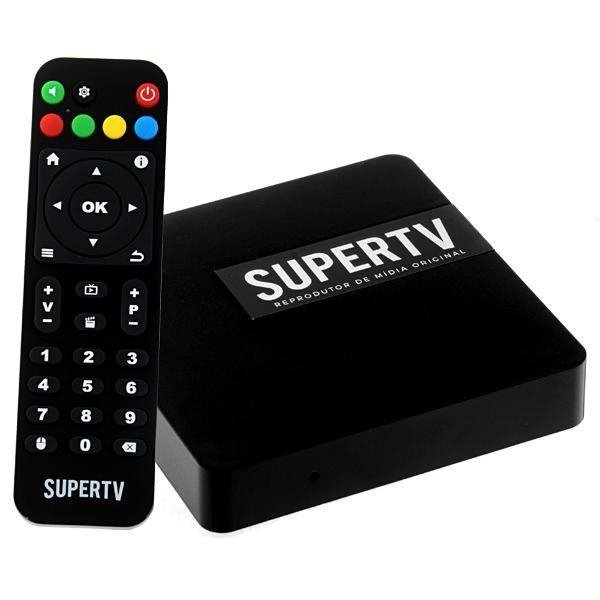 Supertv Black Ultra HD 4k IPTV