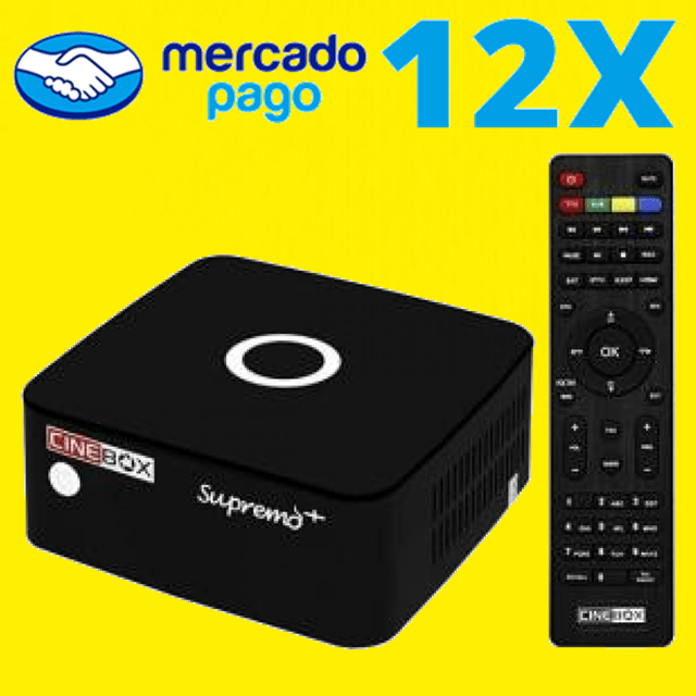 Cinebox Supremo+ Plus ACM na internet