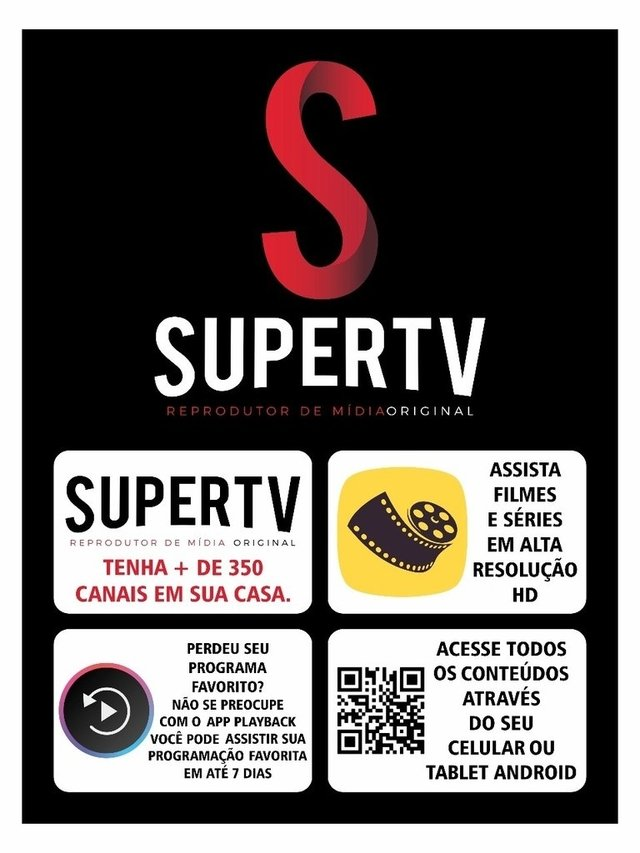 Receptor Supertv OS02 Ultra HD 4K