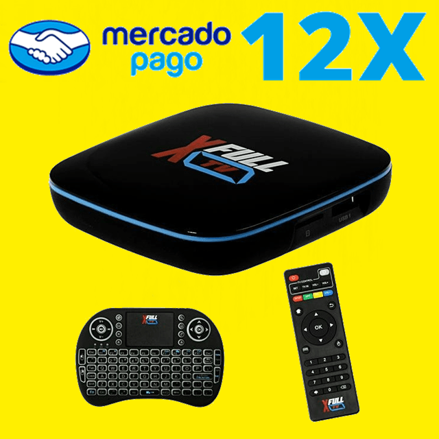 X Full TV F1 Ultra HD 4K com Wi-Fi na internet