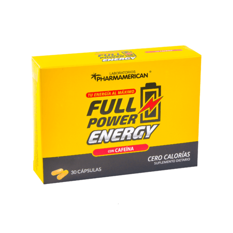 6 Full Power Energy x 30 Cápsulas (Envío Gratis)