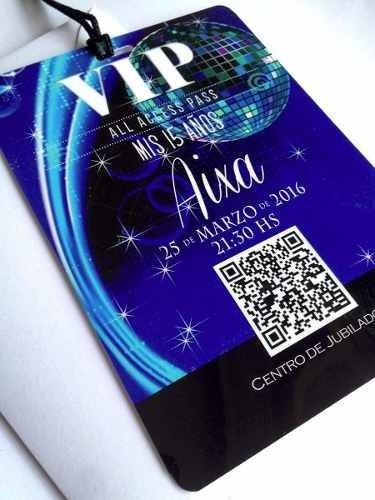 Invitaciones Tarjetas Vip 15 Años 8x11 C Sobre