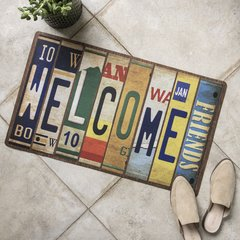 Alfombra Welcome 75x45 cm.