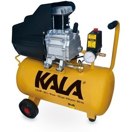 Compressor de Ar 1.5HP 20L 8BAR 127V - KALA