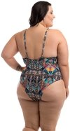 MAIÔ ARUBA MARRAKESH PLUS SIZE ACQUA ROSA