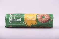 GALLETITAS MOLINO NATURAL AVENA Y GRANOLA 251G