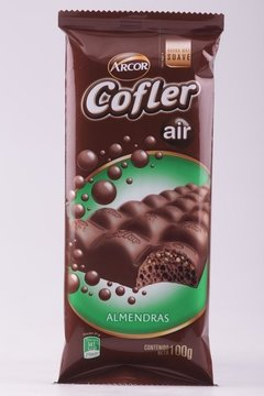 CHOCOLATE COFLER AIR ALMENDRAS 100g