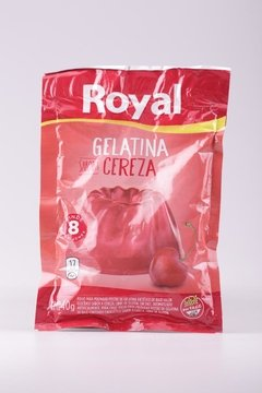 GELATINA ROYAL SOBRE CEREZA 40g