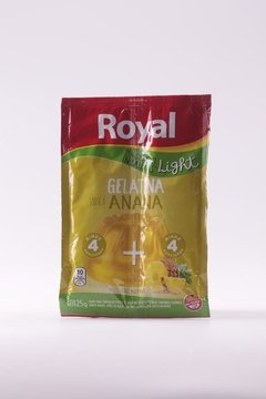 GELATINA ROYAL SOBRE LIGHT ANANA 25g