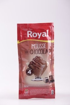MOUSSE ROYAL CHOCOLATE 65g