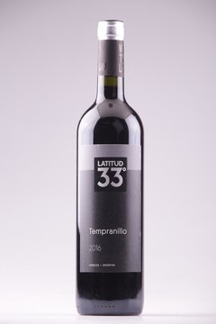 VINO TINTO LATITUD 33 TEMPRANILLO 750ML