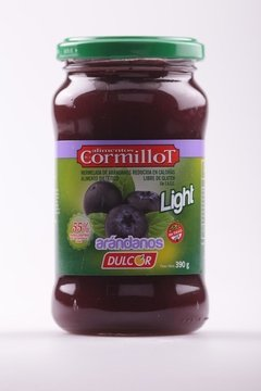 MERMELADA CORMILLOT LIGHT ARANDANOS 390g