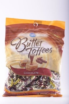 CARAMELOS BUTTER TOFFEE CHOCOLATE 150g