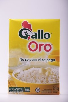 ARROZ GALLO ORO 1kg